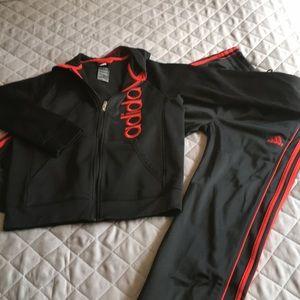 Adidas warm-up suit size L (14/16)